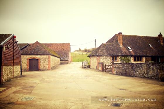 Pangdean Barn Wedding Venue - East Sussex  0106