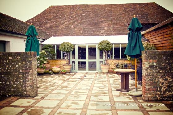 Pangdean Barn Wedding Venue - East Sussex  0109