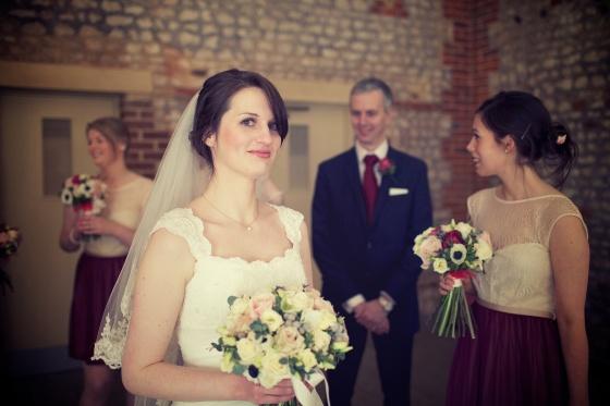Charli Oli Farbridge Barns Wedding Feb 2013  0131