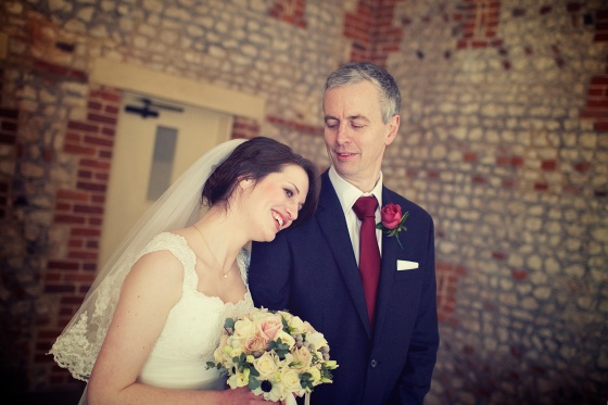 Charli Oli Farbridge Barns Wedding Feb 2013  0134