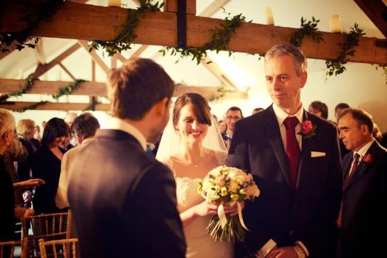 Charli Oli Farbridge Barns Wedding Feb 2013  0155
