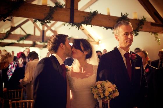 Charli Oli Farbridge Barns Wedding Feb 2013  0156
