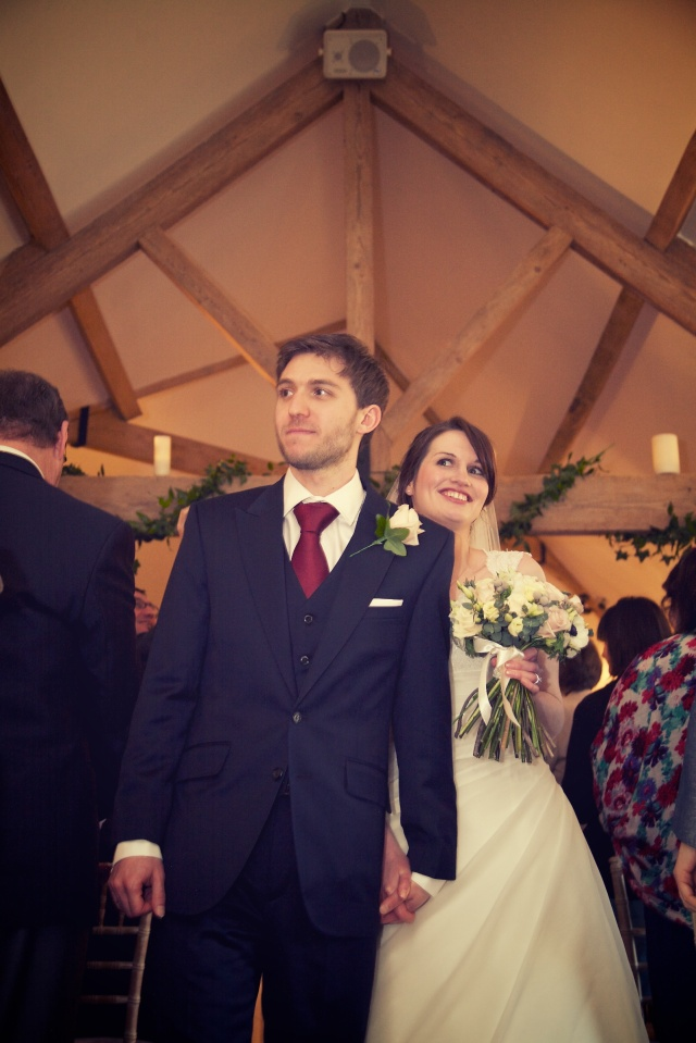 Charli Oli Farbridge Barns Wedding Feb 2013  0244