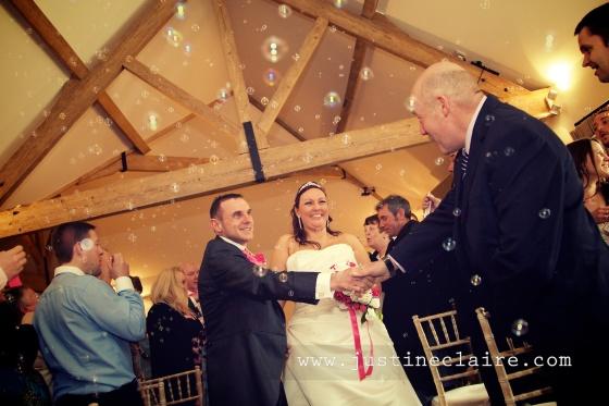 Farbridge Barn Wedding Photos