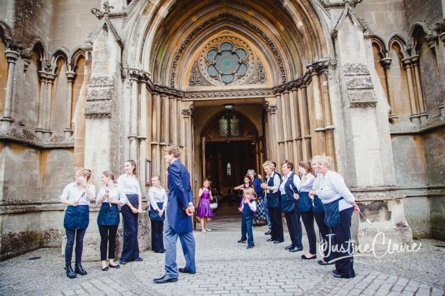 Arundel cathedral Photographers Castle Goring wedding-24