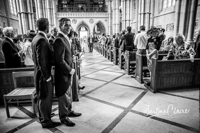 Arundel cathedral Photographers Castle Goring wedding-44
