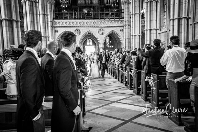 Arundel cathedral Photographers Castle Goring wedding-45