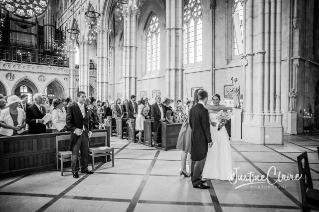 Arundel cathedral Photographers Castle Goring wedding-50