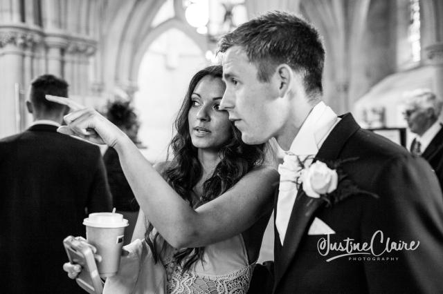 Arundel cathedral Photographers Castle Goring wedding-6