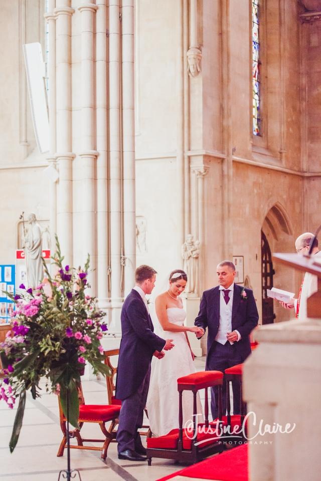 Arundel cathedral Photographers Castle Goring wedding-73