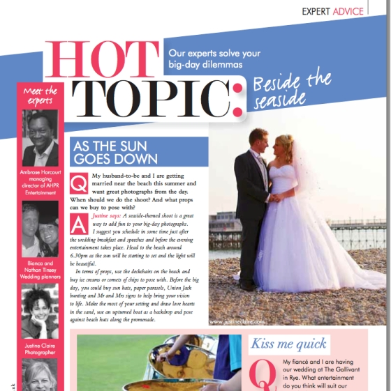 Ask the Experts - Your Sussex Wedding