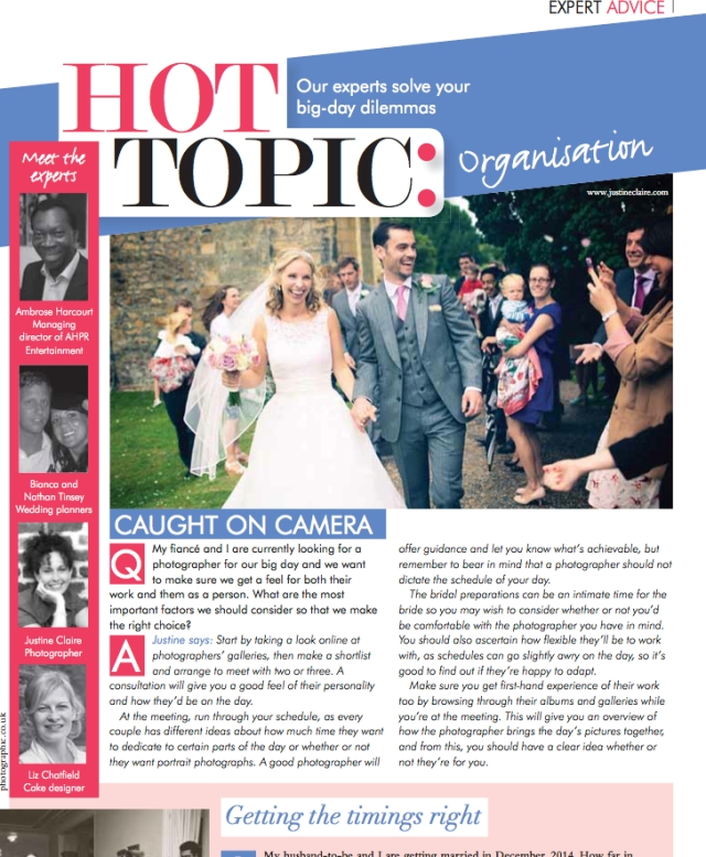 Your Sussex Wedding - Ask the Experts