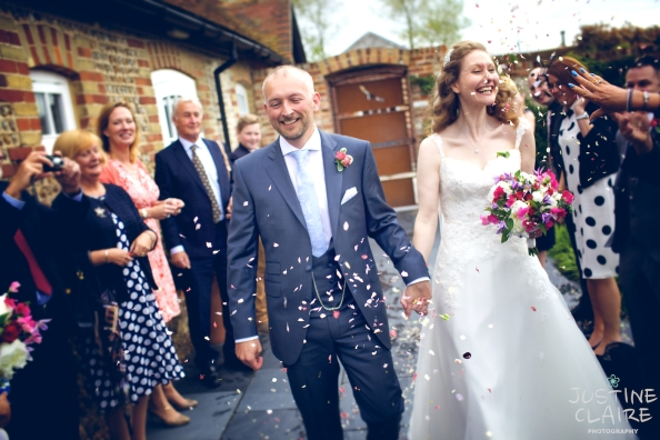 heidi Mark Southend Barns Wedding Photographers preferred suppliers Justine Claire 0640