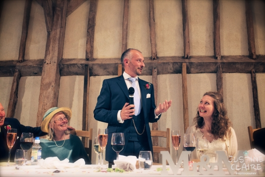 heidi Mark Southend Barns Wedding Photographers preferred suppliers Justine Claire 0643