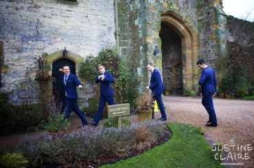 Amberley Castle Boys on the move