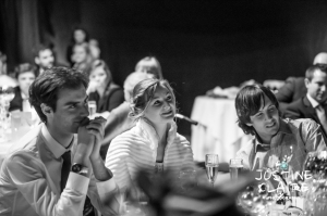 Speeches - fabulous atmosphere in blackened marquee caught by fast lens in low light condistions - Wedding photographers enjoy different seasons, temperatures, locations and lighting to capture beautiful photographs of your day