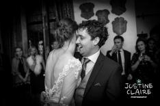 First dance castle wedding
