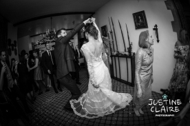 Second Dance of the night after Bride and Grooms first Dance Speeches - fabulous atmosphere in blackened marquee caught by fast lens in low light condistions - Wedding photographers enjoy different seasons, temperatures, locations and lighting to capture beautiful photographs of your day