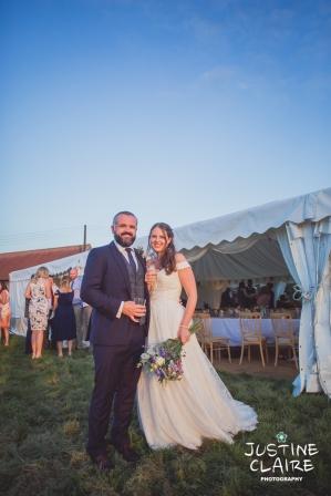 Photographers in Sussex Court Garden Farm Vineyard Barn Wedding Ditchling-172