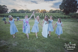 Photographers in Sussex Court Garden Farm Vineyard Barn Wedding Ditchling-181