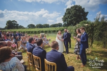Photographers in Sussex Court Garden Farm Vineyard Barn Wedding Ditchling-51