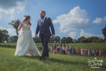 Photographers in Sussex Court Garden Farm Vineyard Barn Wedding Ditchling-77