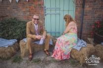 Photographers in Sussex Court Garden Farm Vineyard Barn Wedding Ditchling-79