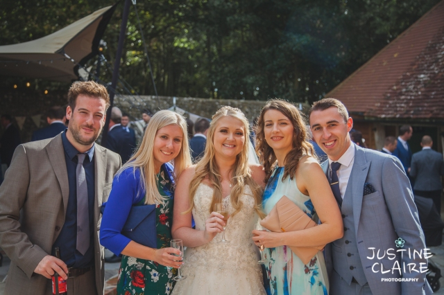 wedding photographer at Cissbury barn Findon Barn Venue Sussex reportage-75