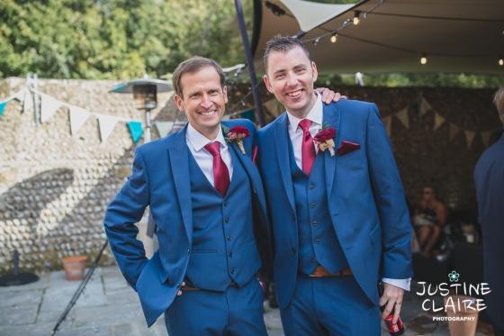 wedding photographer at Cissbury barn Findon Barn Venue Sussex reportage-78