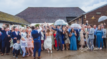 Pangdean Barn Wedding photographers Brighton -222