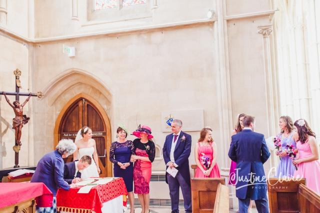 Arundel cathedral Photographers Castle Goring wedding-116