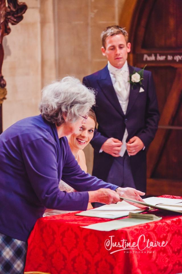 Arundel cathedral Photographers Castle Goring wedding-118