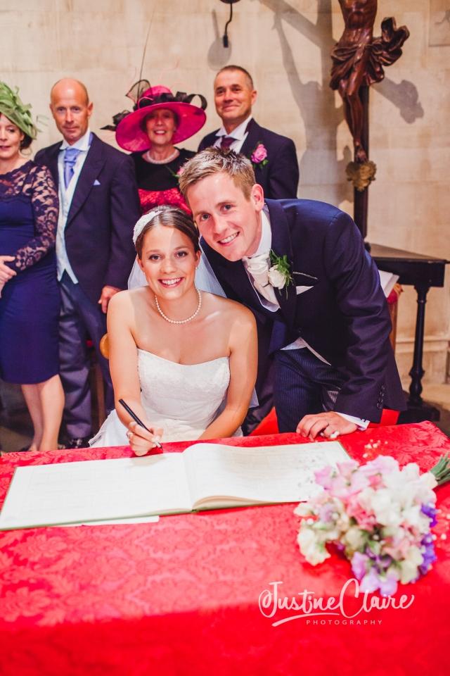 Arundel cathedral Photographers Castle Goring wedding-131