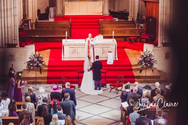 Arundel cathedral Photographers Castle Goring wedding-133