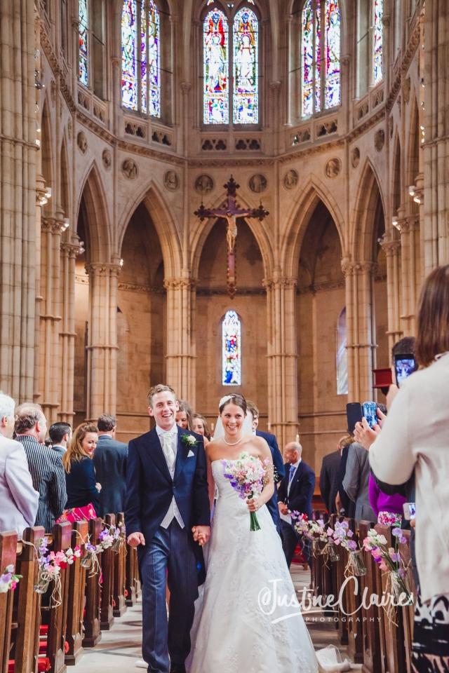 Arundel cathedral Photographers Castle Goring wedding-138