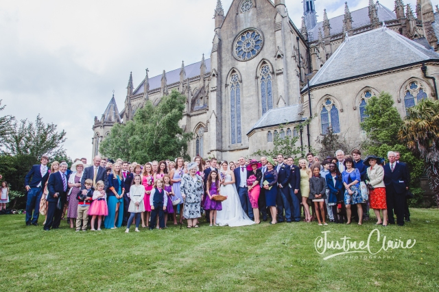 Arundel cathedral Photographers Castle Goring wedding-173