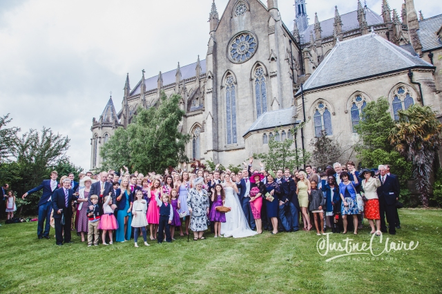 Arundel cathedral Photographers Castle Goring wedding-174