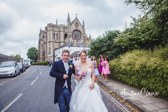 Arundel cathedral Photographers Castle Goring wedding-206