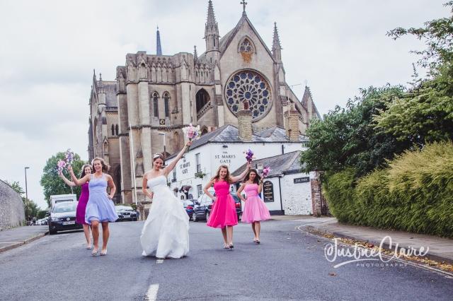 Arundel cathedral Photographers Castle Goring wedding-218